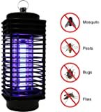 CYLONG Mosquito Killer Lamp, Bug Zapper and Fly Zapper Catcher Killer Trap - Protects Up to 1.5 Acre/Bug and Fly Killer, Insect Killer, Mosquito Killer - For Residential and Commercial Use (BLACK)