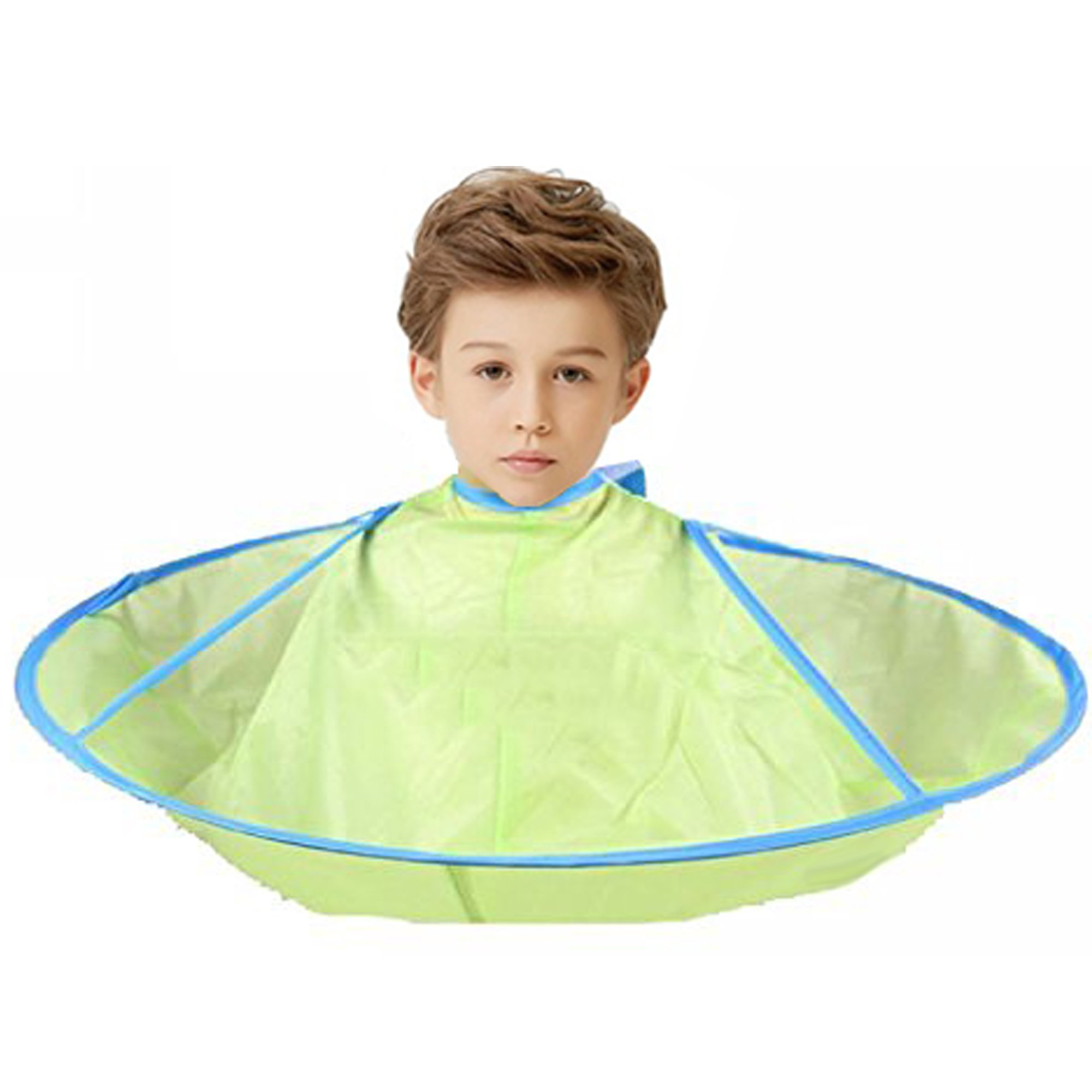 ATOP VALUE Hair Cutting Cloak Umbrella Cape Salon Waterproof Child Home Barber Hairdressing for Child Hairstylist Design Gown Barbers