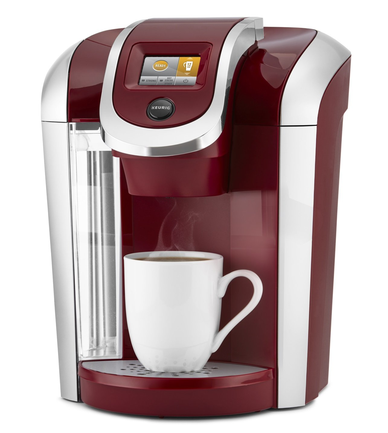Keurig K475 Single Serve Programmable K- Cup Pod Coffee Maker with 12 oz brew size and temperature control, Vintage Red by Keurig (Image #2)