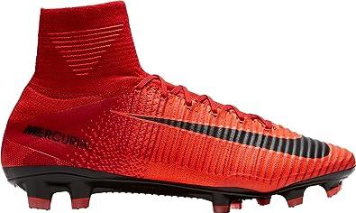 size 40 8350f 2a845 Amazon.com | Nike Mercurial Superfly V DF FG University RED ...