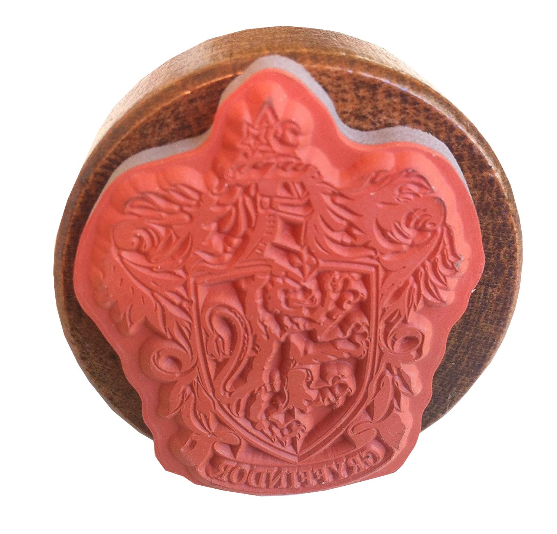 Wizarding World of Harry Potter Gryffindor House Crest Rubber Stamp