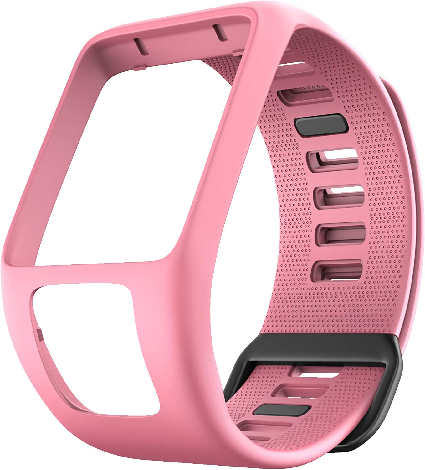 ANCOOL Compatible with Spark 3 Watch Bands Silicone Watch Straps Replacement for Runner 2 3,Spark 3, Golfer 2,Adventurer Smartwatches (Pink)