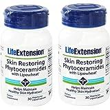 Life Extension Skin Restoring Phytoceramides 30 Liquid Capsules (Pack of 2)