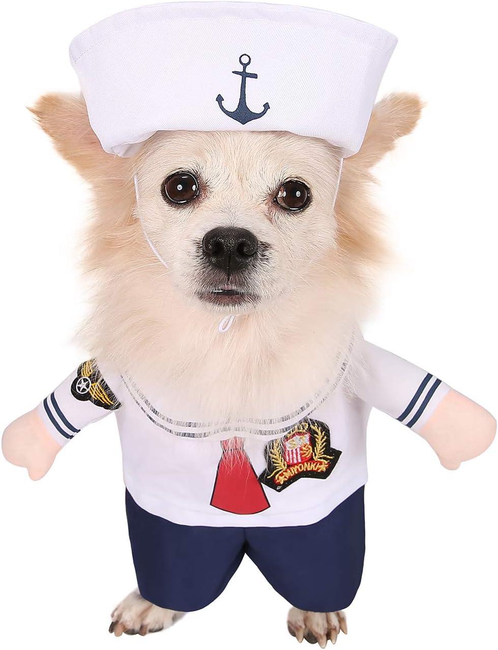HDE traje de marinero con gorra para disfraz de Halloween de una ...