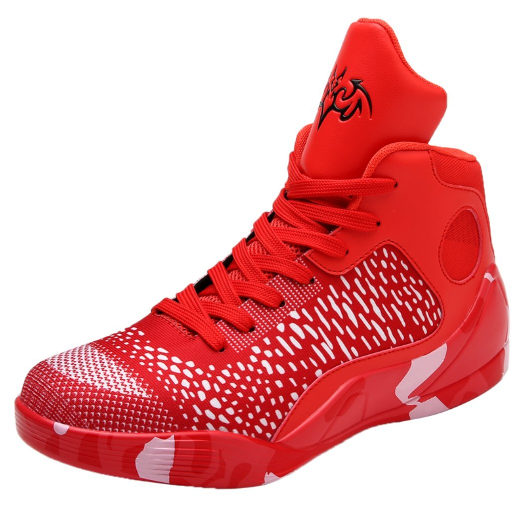 bemy Fashion Leisure Sports, Men's high Basketball Shoes, Young Students Training Shoes