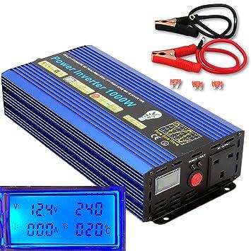 YQX 2000 W (Pico) 1000 W CC 12 V a AC240 V Inversor de