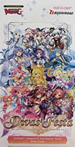 Cardfight Vanguard VGE-G-CB07 G-Divas Festa Clan Booster Display, Multi Colour
