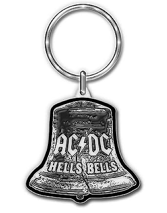 AC/DC Llavero Keychain Hells Bells band logo nuevo Oficial ...