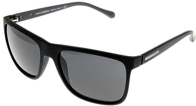 Amazon.com: Dolce & Gabbana anteojos de sol Hombres Negro ...