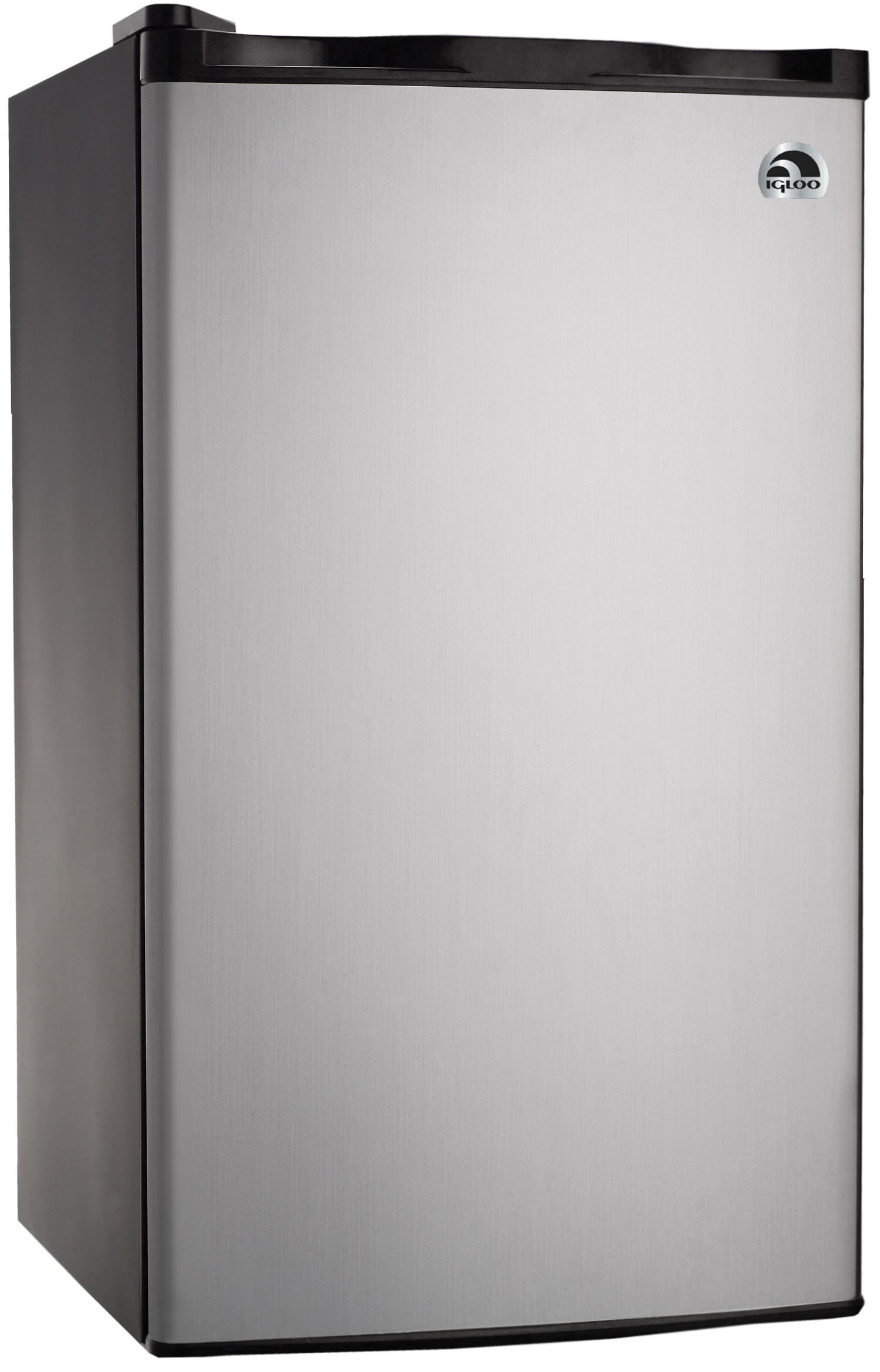 RCA RFR321-FR320/8 IGLOO Mini Refrigerator, 3.2 Cu Ft Fridge, Stainless Steel by RCA