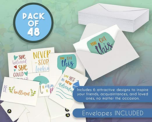 Amazon.com: Tarjetas con citas inspiradoras - tarjetas ...
