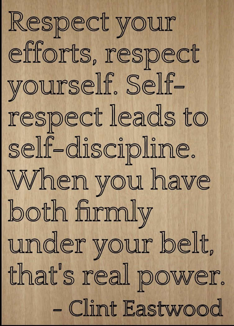 Amazon Respect Your Efforts Respect Yourself Quote By