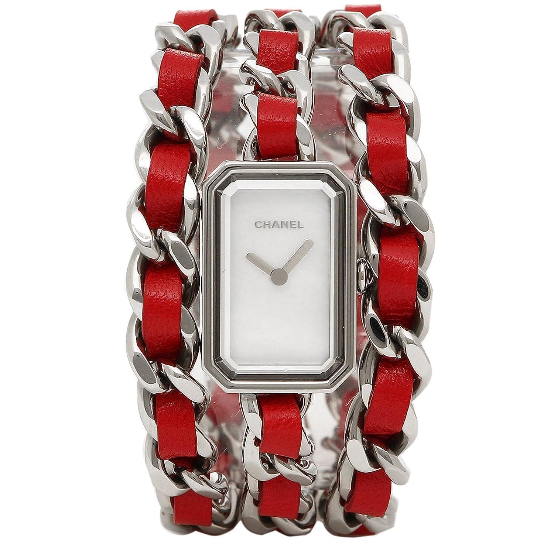 423fa4c0c5fd Amazon | [シャネル] 腕時計 レディース プルミエール CHANEL H5313 シルバー レッド パール [並行輸入品] |  並行輸入品・逆輸入品・中古品(レディース) | 腕時計 ...