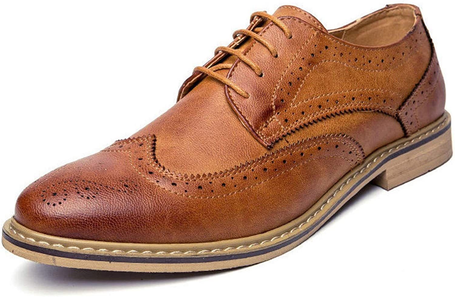 Luxury Leather Mens Flats Shoes Casual British Style Men Oxfords Fashion Dress Shoes for Men