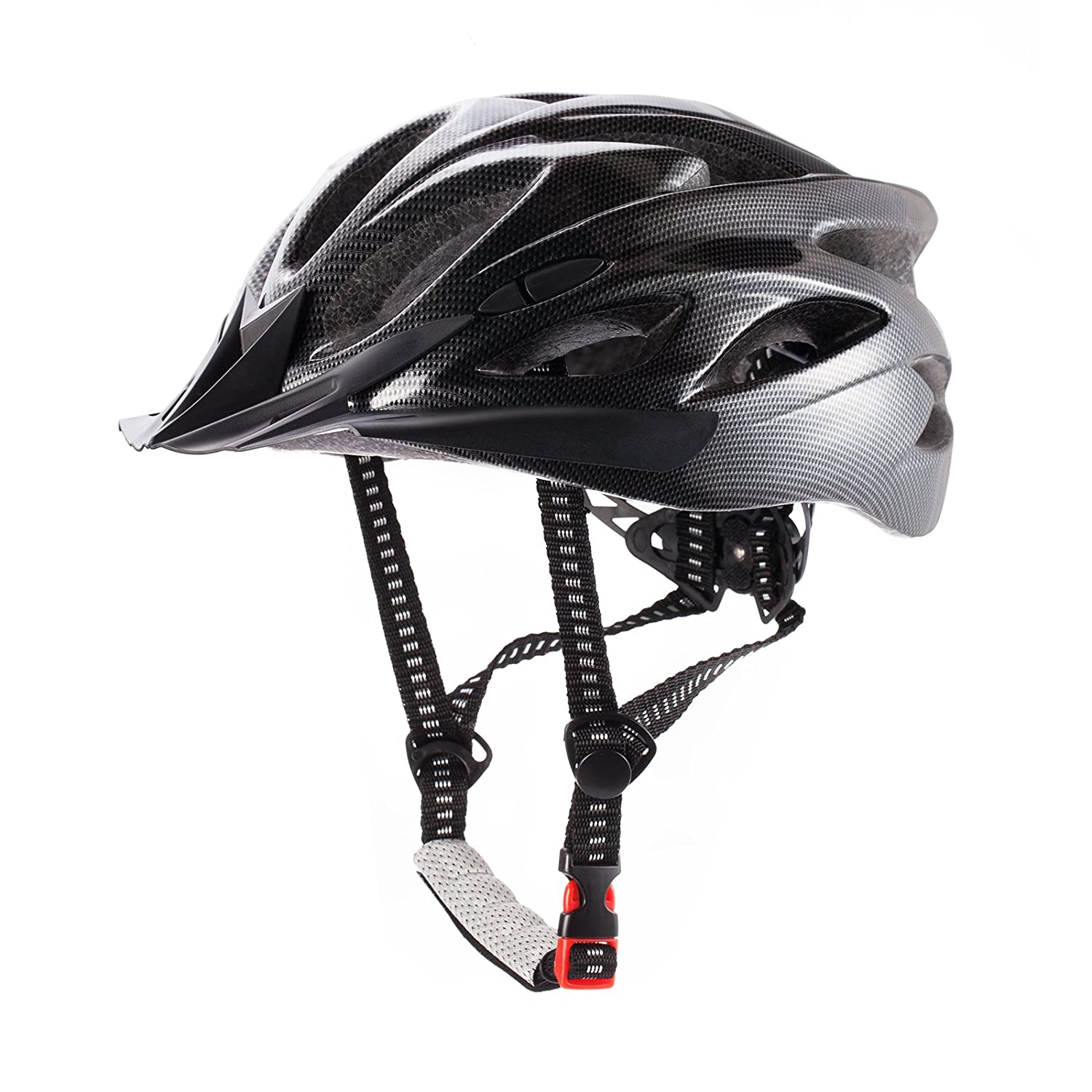 Cctro Adult Cycling Bike Helmet Eco Friendly Lixada Mountain Adjustable Trinity Men Women Bicycle Road Safety Protection A Black