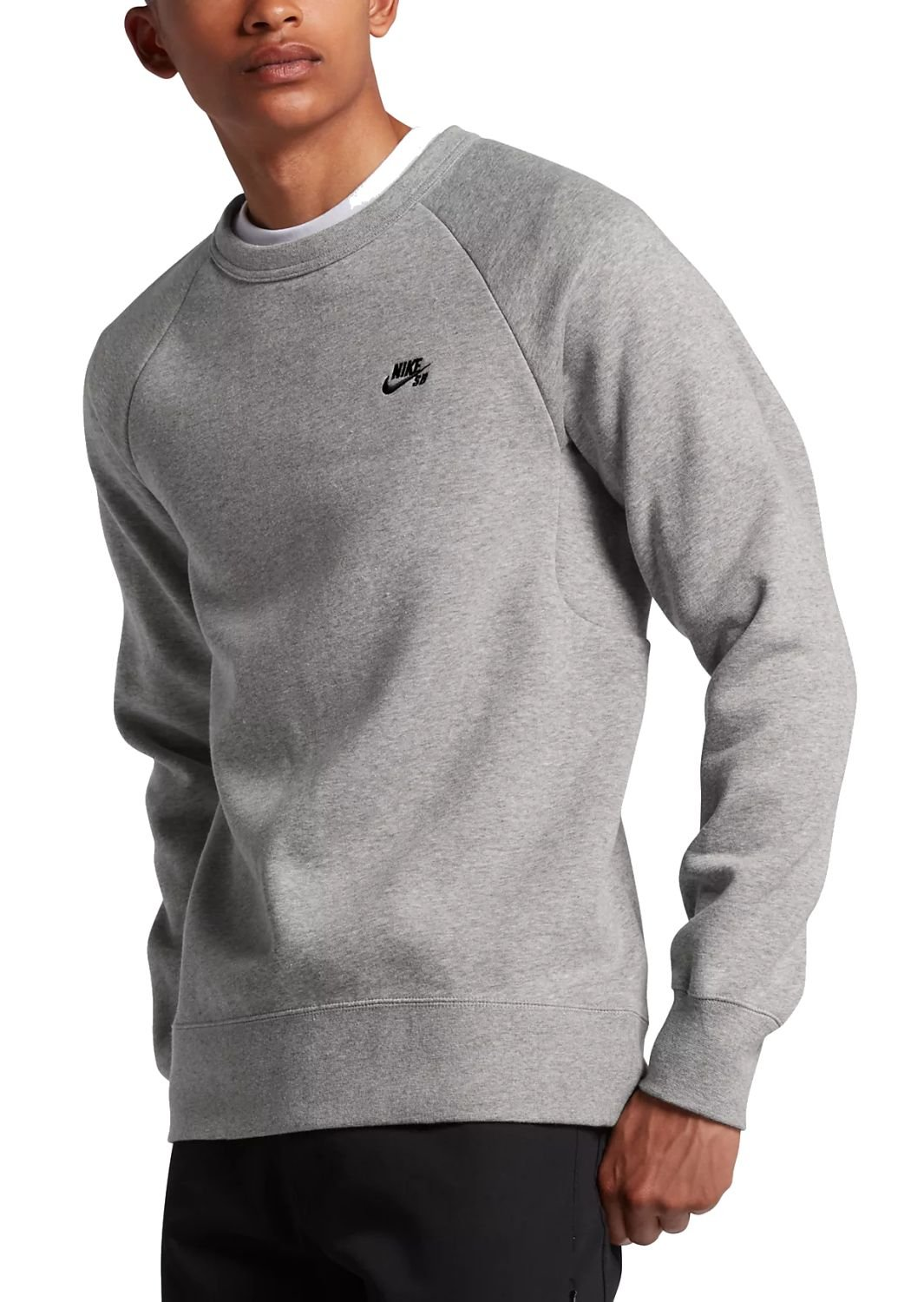 Nike SB ICON CREW FLEECE Long sleeved T shirt for Men, Size