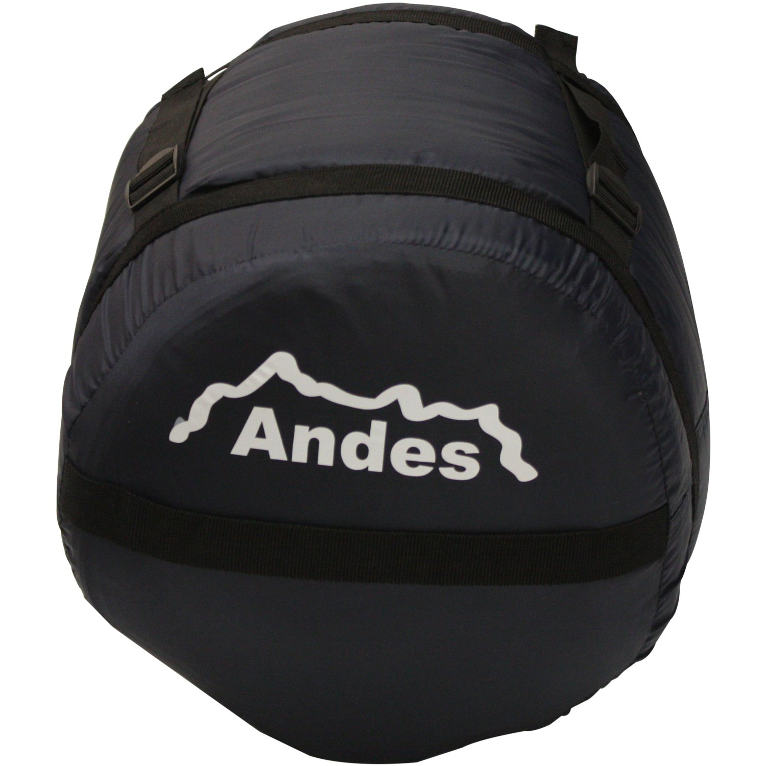 Festivals Waterproof Ideal Camping Compression Carry Bag Included Andes Palermo 400 Rectangle Sleeping Bag Warm 400GSM Filling