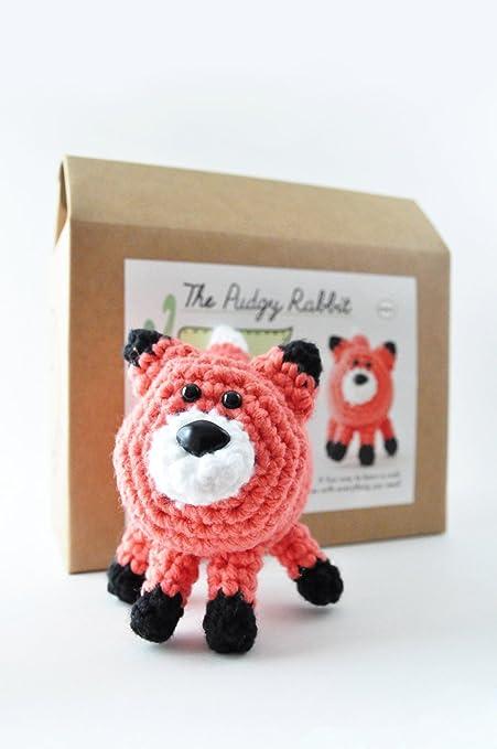 Amazoncom Diy Beginner Crochet Kit Fox