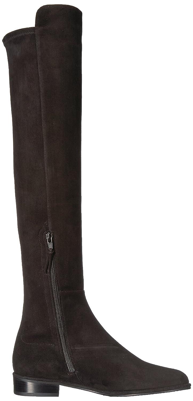 Stuart Weitzman Women's Allgood Knee High Boot B072QKWT89 8 B(M) US|Black Suede