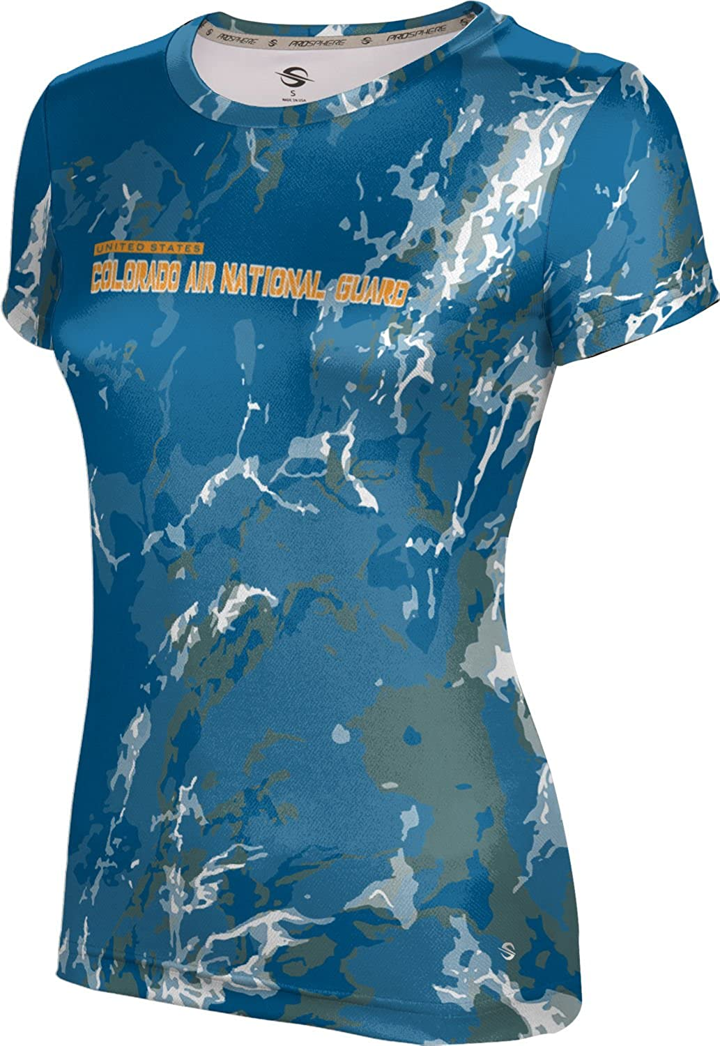 ProSphere Women's Colorado Air National Guard Military Marble Tech Tee