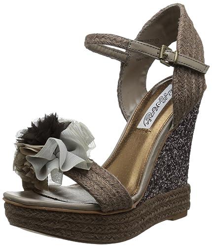 171d72ef97 Amazon.com | Naughty Monkey Women's Sprinkle Wedge Sandal ...