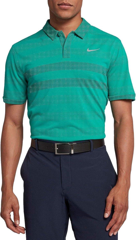 Nike Men's Zonal Cooling Stripe STD Golf Polo