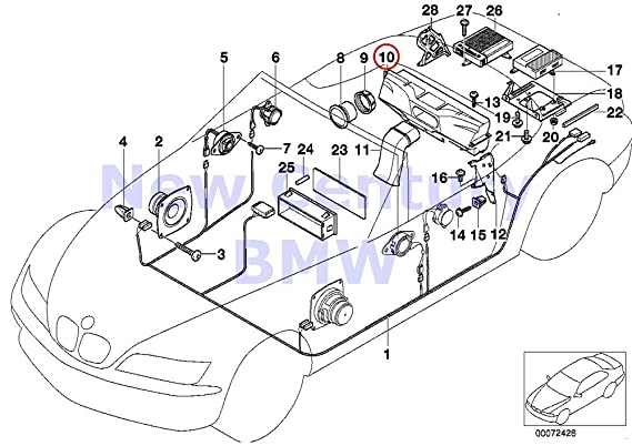 Bmw Genuine Parts F Harman Kardon Top Hifi Subwoofer Box Speaker