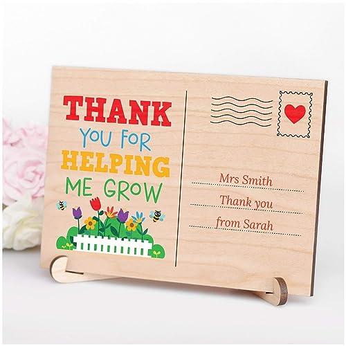 Teacher or Teaching Assistant Gift Nursery Keyworker Handmade Thank You Teacher Wish Bracelet Childminder Appreciation Gift
