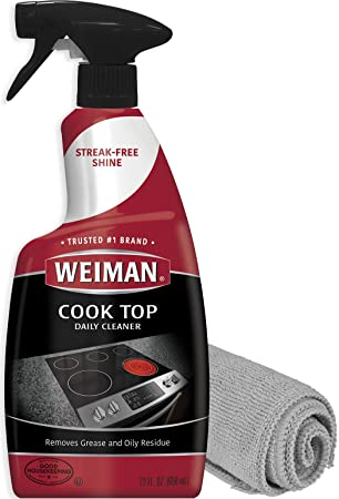 Amazon.com: Weiman Cook Top Daily Cleaner - Fórmula no ...