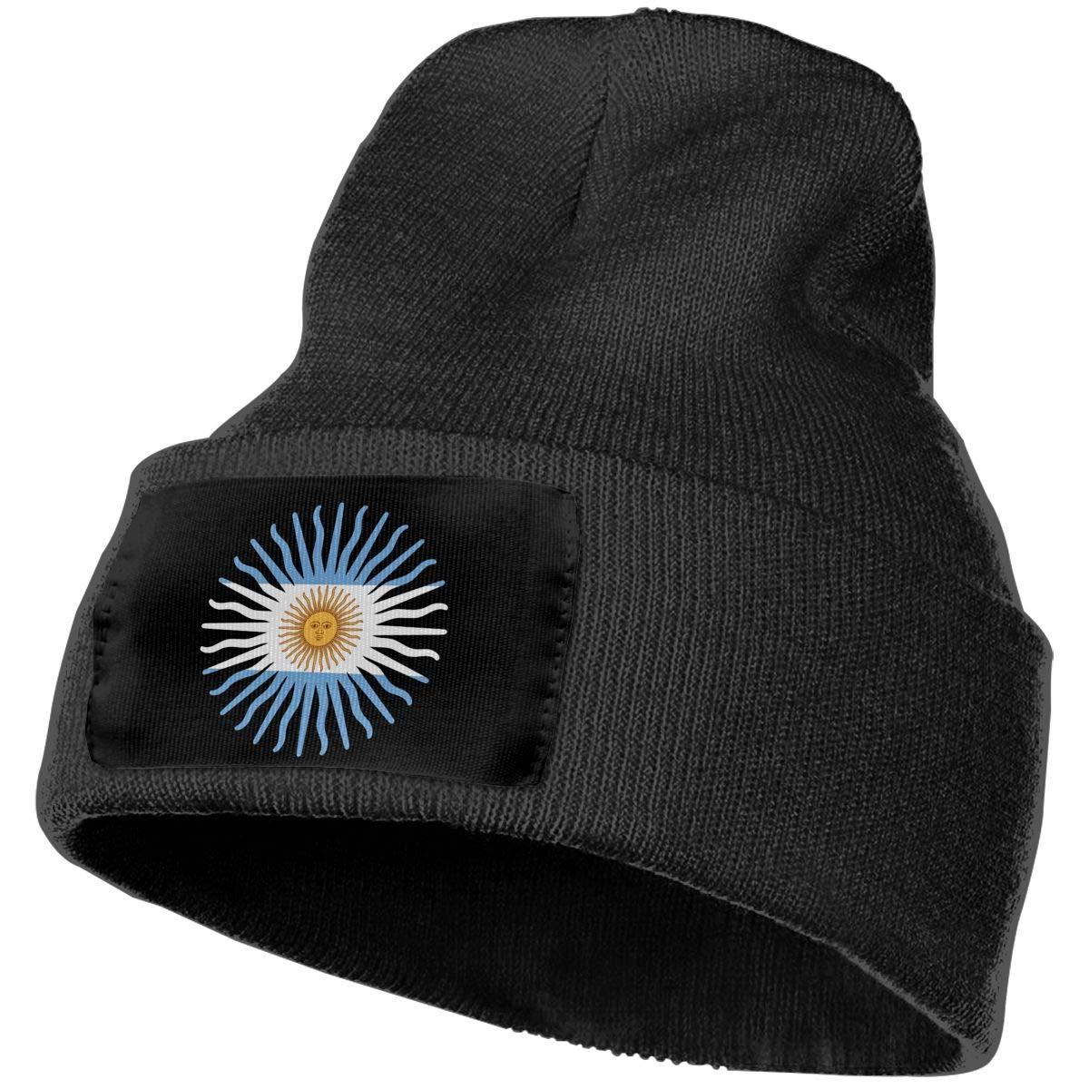 COLLJL-8 Men /& Women Argentina Flag Outdoor Warm Knit Beanies Hat Soft Winter Knit Caps