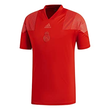 new arrival 098bf 5ca2b Amazon.com : adidas 2018-2019 Real Madrid Icon Tee (Red ...