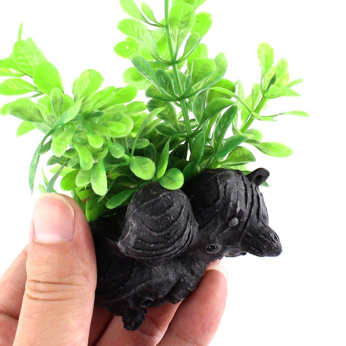 Amazon.com : eDealMax Planta Peces de plástico acuario del tanque de agua de hierba Artificial Verde : Pet Supplies