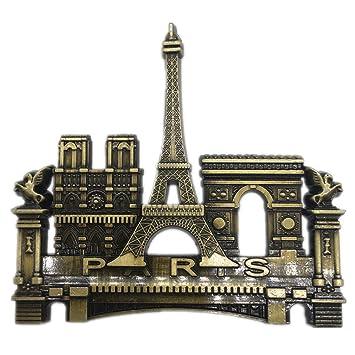 Weekinglo Souvenir Torre Eiffel Notre Dame de Paris Arco de ...