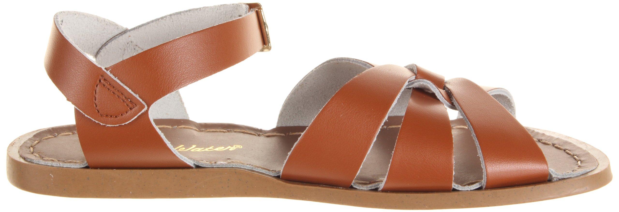 Salt Water Sandals by Hoy Shoe Original Sandal (Toddler/Little Kid/Big Kid/Women's), Tan, 7 M US Big Kid by Salt Water Sandals (Image #7)