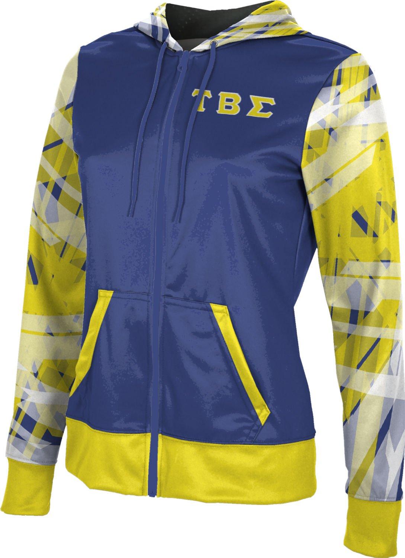 ProSphere Tau Beta Sigma Women's Fullzip Hoodie - Crisscross E2CF3 (X-Large)