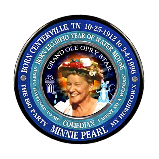 Amazon com: Minnie Pearl Singer Pin, Astrology Libra Scorpio Cusp