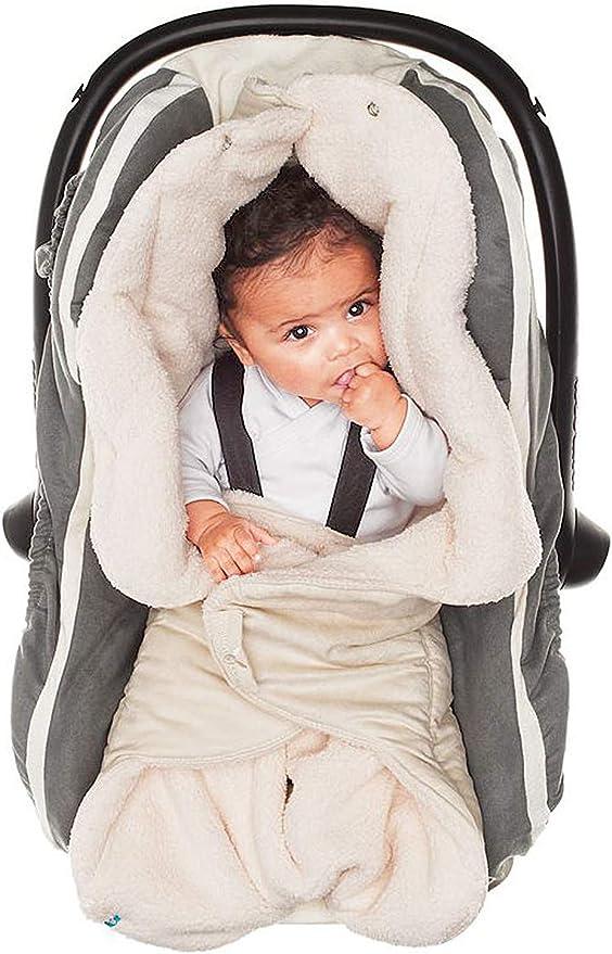 Wallaboo Nore - Manta para bebé muy práctica y ultra suave, 85 x ...