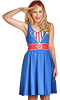 Her Universe Captain America Juniors Costume Dress
