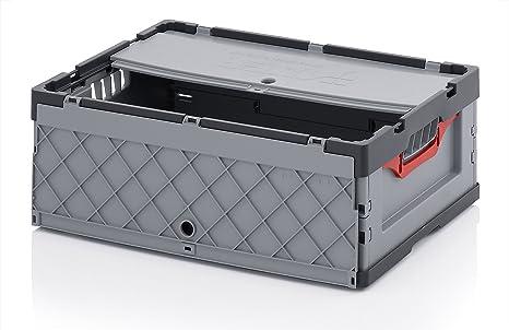 2 x Profesional de Caja Plegable con Tapa Auerhahn Packaging, FBD 64/22,
