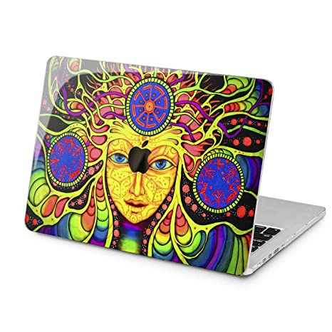 e777b650255c Amazon.com: Lex Altern Psychedelic MacBook 2018 Air 13 inch Pro 15 ...