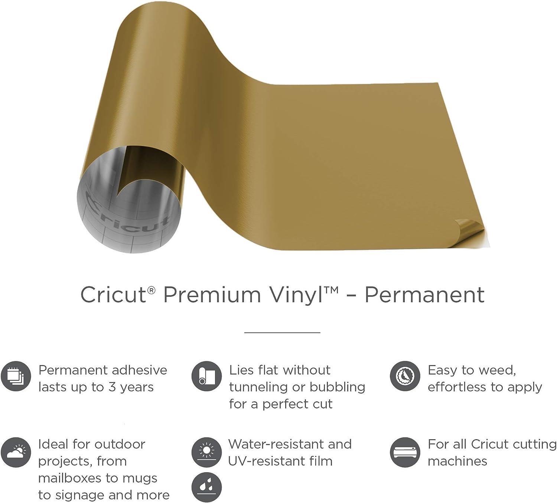 Multicolour Cricut PVP TEX MET VINYL GOLD 12X48 one size