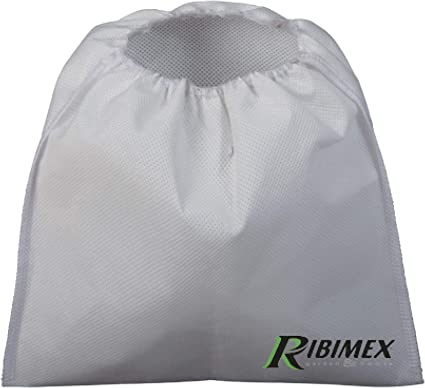 Ribimex PRCEN000//CF Prefiltro autoextinguible para aspiradora gris
