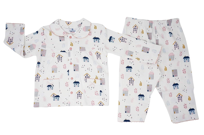 Luggi Baby Girls Pajamas Sets 100/% Cotton Toddler Pjs Sleepwear 3-36 Months