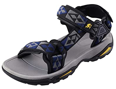 3beef28347 Amazon.com   CAMEL CROWN Mens Hiking Sandals Waterproof with Arch ...