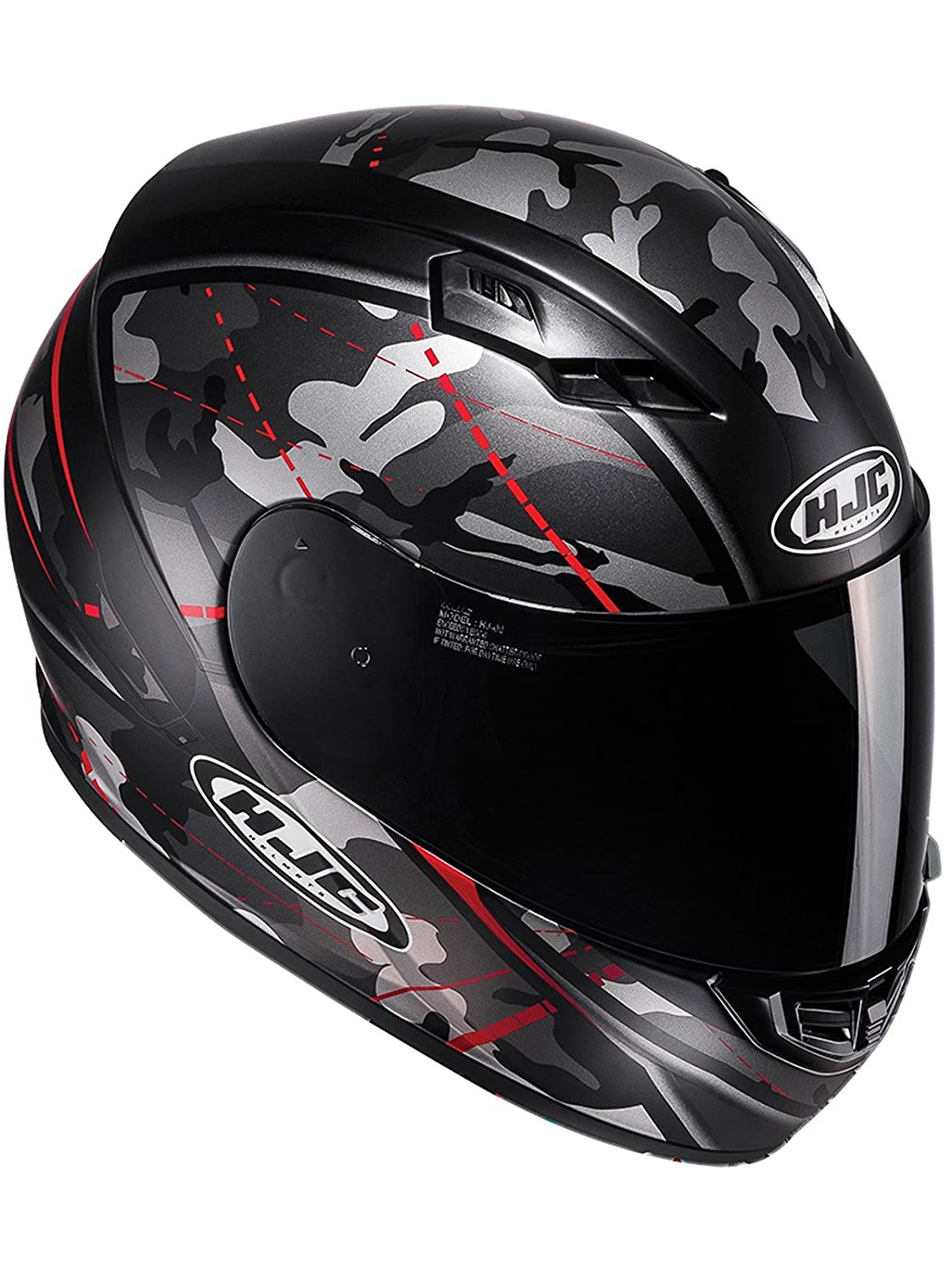 C5SOBM HJC CS-15 Songtan Motorcycle Helmet M Black MC5SF