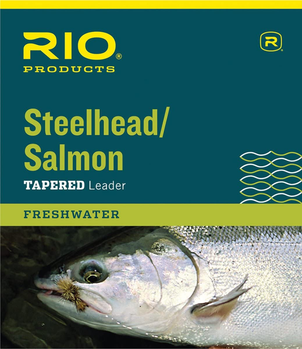 3 Pack New 9ft RIO Steelhead // Salmon Leaders 20lb