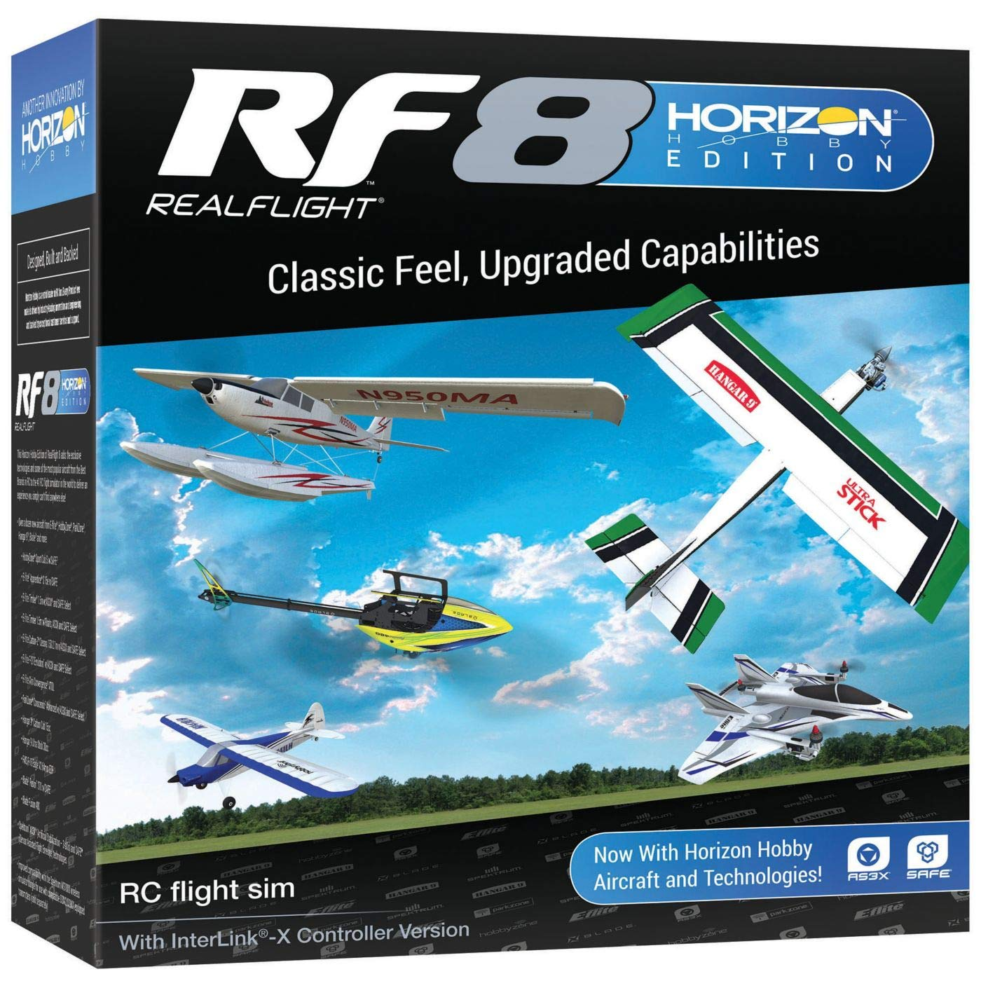 RealFlight RF8 Horizon Hobby Edition with Interlink-X Controller, RFL1000 by RealFlight (Image #2)