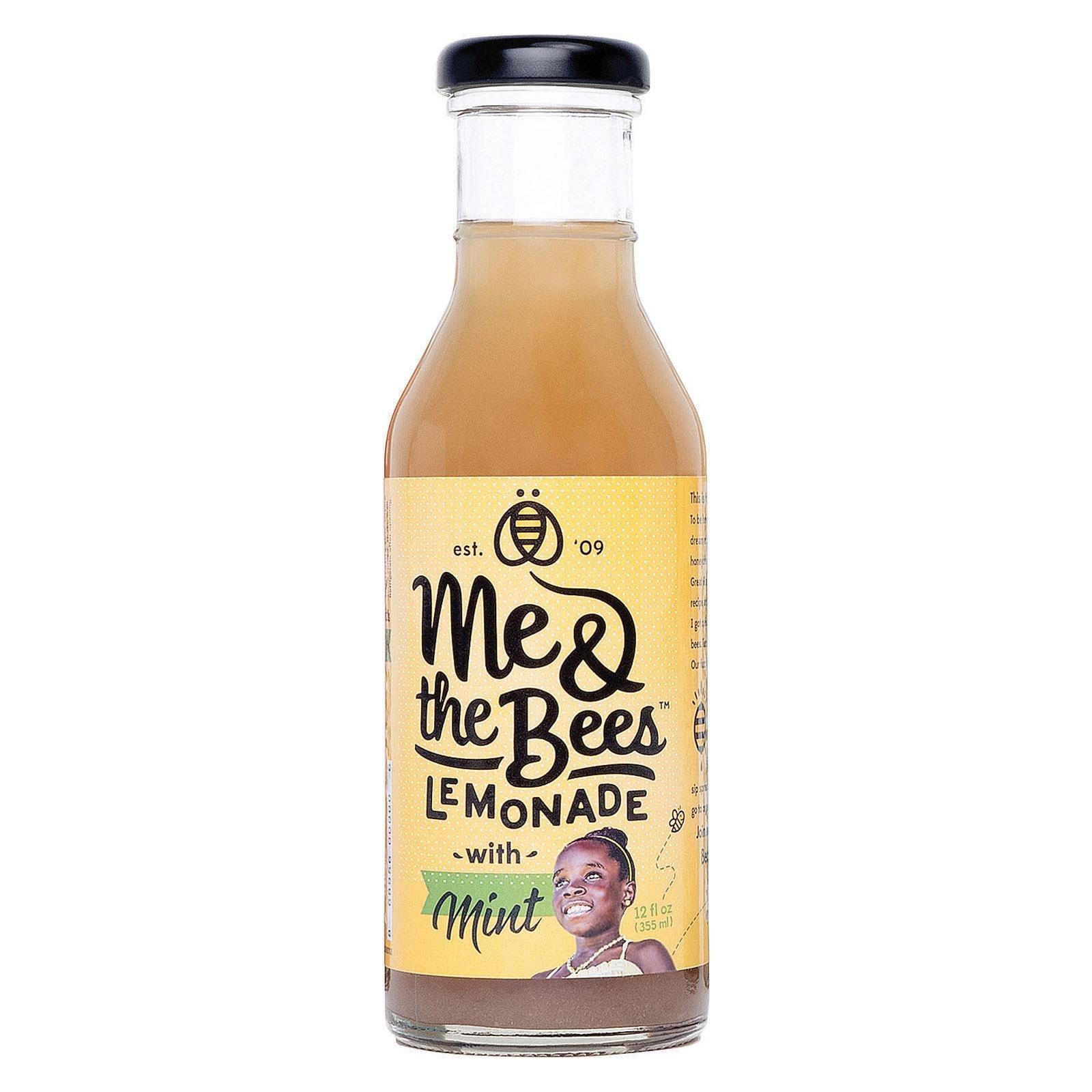 Me & The Bees, Lemonade with Mint, 12 Fl Oz