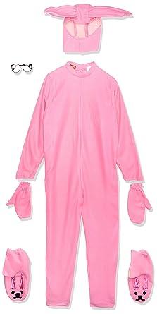 58ec510fe Amazon.com  Rasta Imposta A Christmas Story Bunny Suit Costume