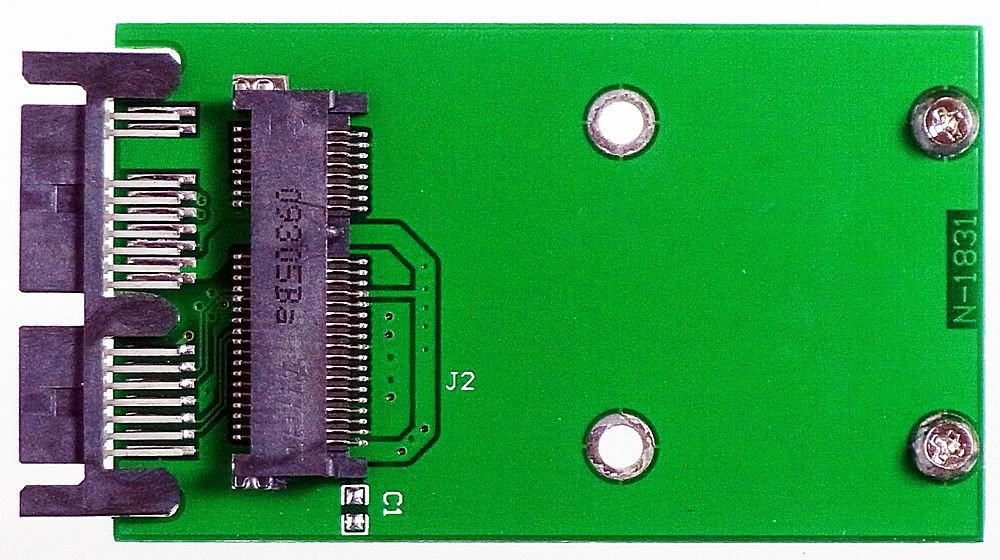 M-ware ID13112 PA6010 - Adaptador de disco duro micro SATA (1,8
